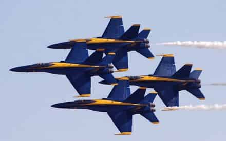 Blue Angels Practice Cruise @ Pensacola Beach