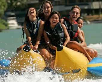 Destin Harbor Banana Boat Rides
