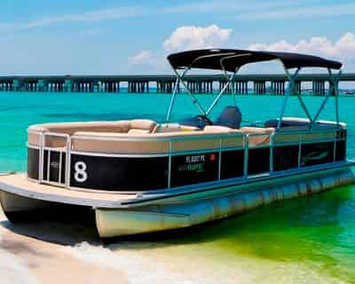 Destin Pontoon Boat Rental with Gilligan's Watersports