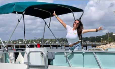 Panama City 12 Person Pontoon Boat Rental