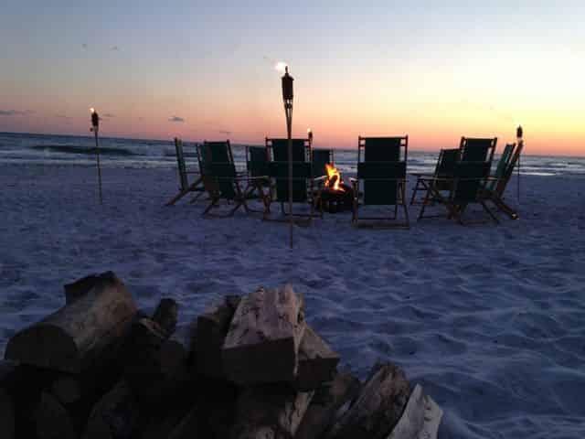 Santa Rosa Beach Seaside Bonfire