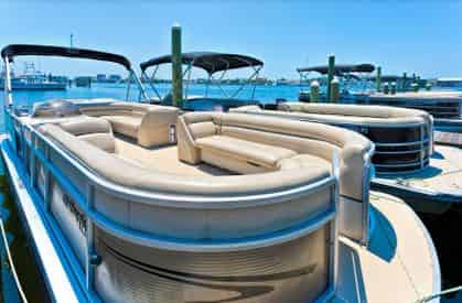 Destin X Pontoon Boat Rental - Departing From Destin Harbor - TripShock!