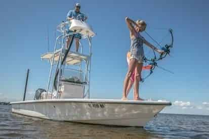Bowfishing with 30A Guide Service
