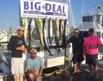Charter Boat Big Deal Private Deep Sea Fishing