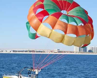 Gulf Shores Parasailing & Banana Boat Ride By Blue Sky Watersports