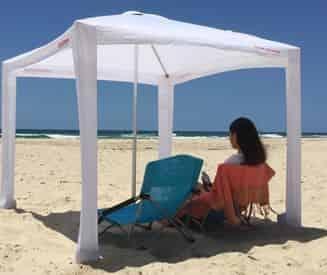 Pensacola Beach Cool Cabana Sun Shelter Rental
