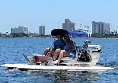 Guided Dolphin Tour on Craigcat Boats in Orange Beach