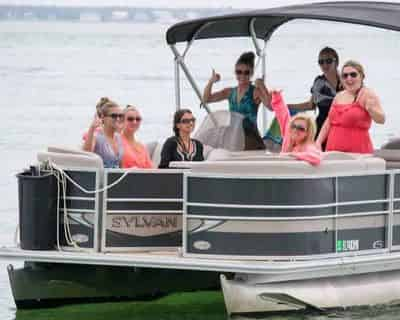 Private Sunset Dolphin Cruise With Power Up Watersports