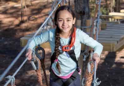 Gulfport Zip N Fun Adventure Park: Junior Ropes Course