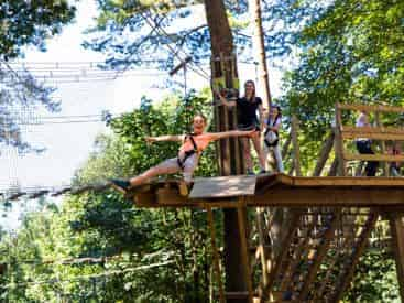 Go Ape! Treetop Journey Zipline Course North Myrtle Beach