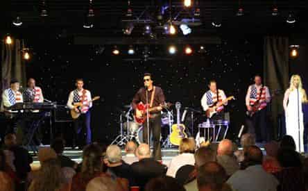 Todd Herendeen's Tribute to the Legends of Rock and Country Dinner Show