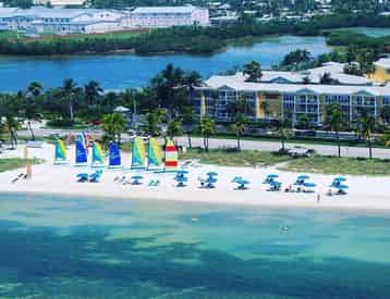 Beach Pass Watersports Package with Parasailing