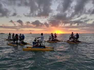 Castaway Island Hydrobike Tour