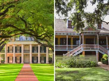 Oak Alley & Laura Plantation Tour Combo with Transportation from New Orleans