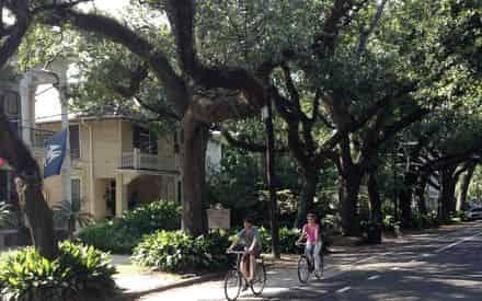 French Quarter & Garden District Bike Tour by Fat Tire Tours