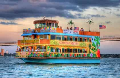 Tropical Lunch Cruise Aboard the Calypso Queen with Optional Buffet