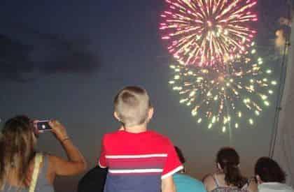 Fireworks Cruise with Cattywampus Aquatic Adventures