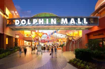 Dolphin Mall Shuttle from Downtown Miami