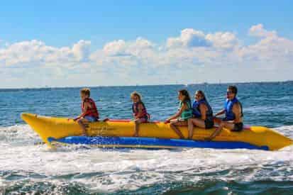 Fort Walton Beach (Okaloosa Island) Banana Boat Rides