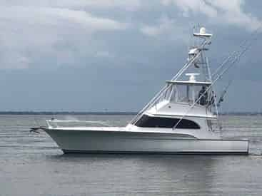 Luxury Destin Fishing Charter aboard the Borderline