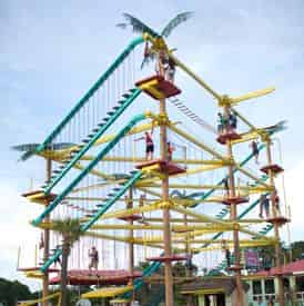 LuLu's Ropes Course & Arcade Package