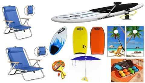 Water Sports & Games Package with Gulf Coast Rental Co.
