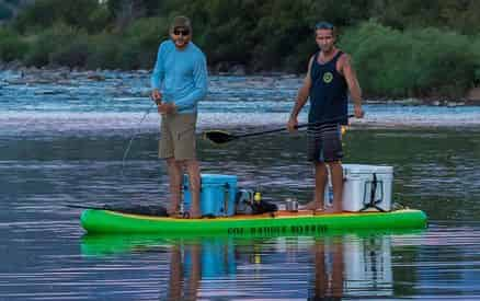 SUP Fishing Rental with WET Inc.