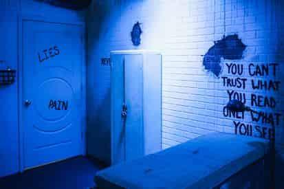 The Asylum Escape Room at Escape Manor