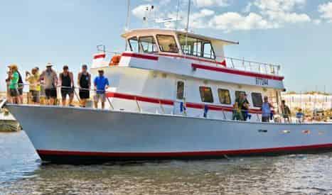 Deep Sea Fishing Party Boat in Destin