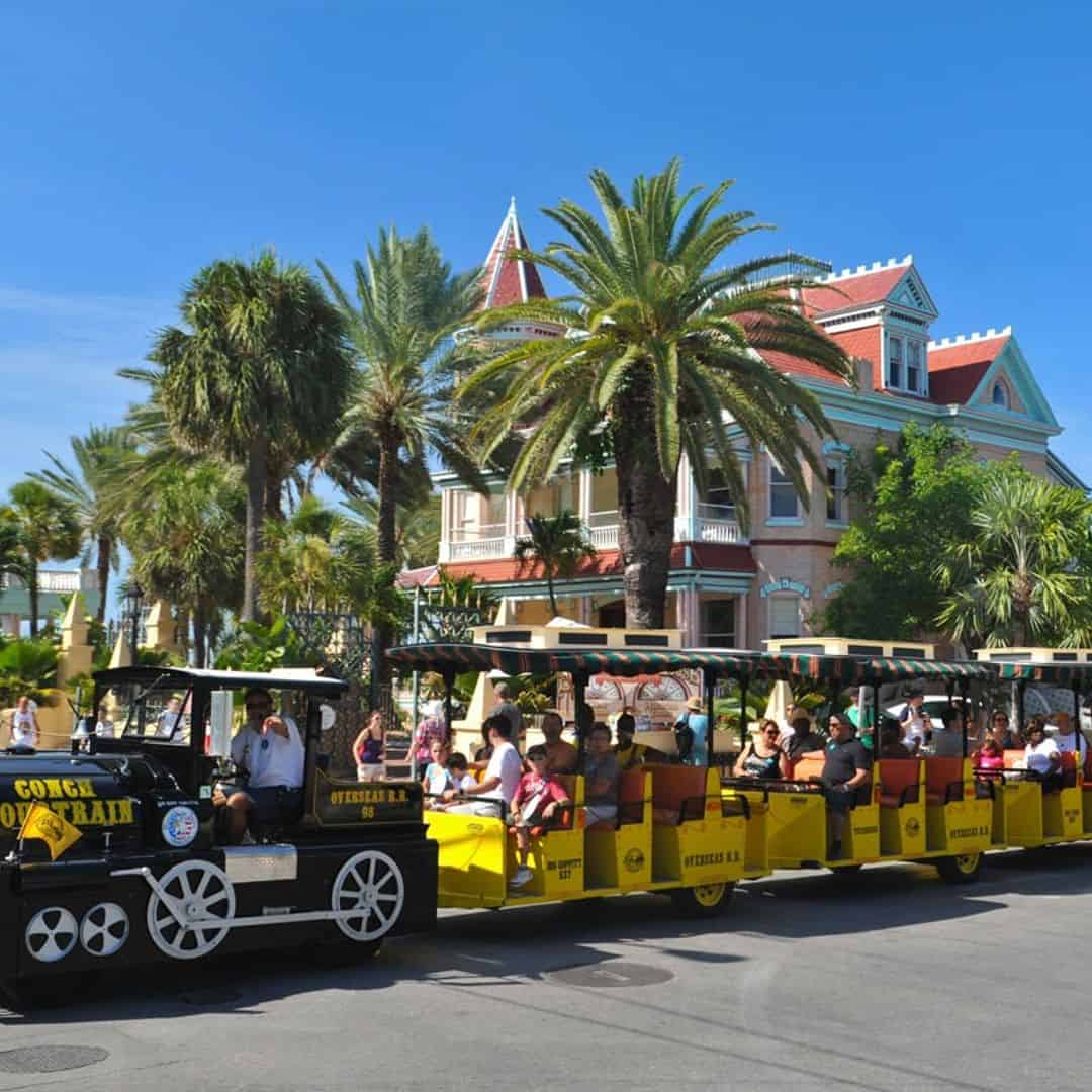 Hop On Hop Off Conch Tour Train Key West - TripShock!