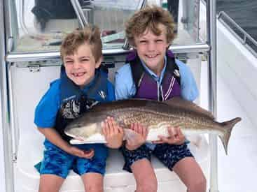 Fishing the Bay - A Kid Friendly Fishing Charter