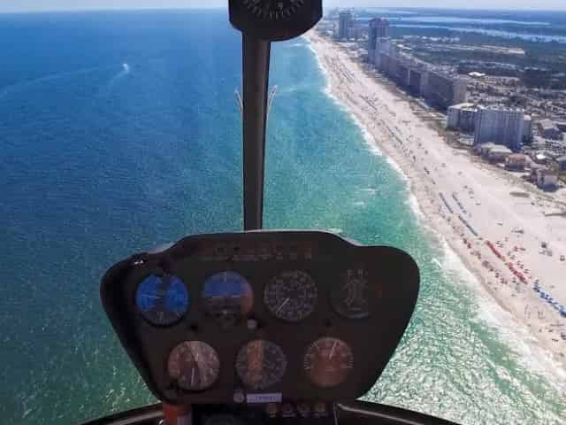 orange beach helicopter tour