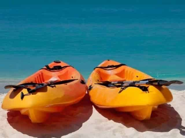 Orange beach kayaking for kids