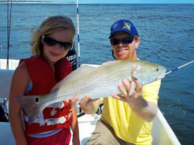 orange beach fishing for kids