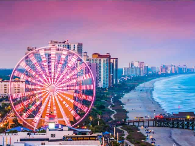 kid friendly activities in myrtle beach sc
