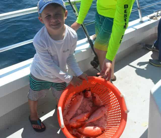 olin marler destin party boat fishing