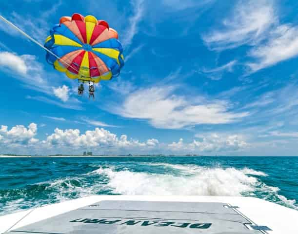 destin beach parasail