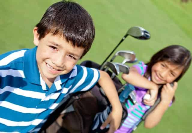 destin golfing with family