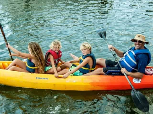 kayak rentals in Navarre, FL, with Kids