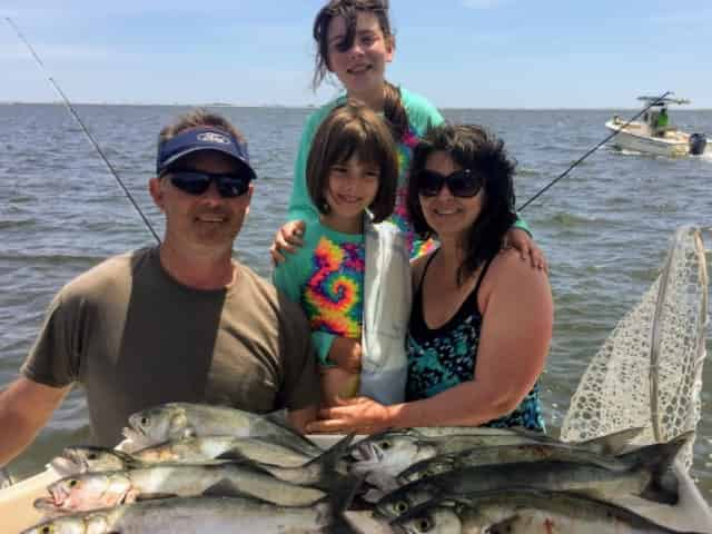 fishing in Navarre, FL, with kids