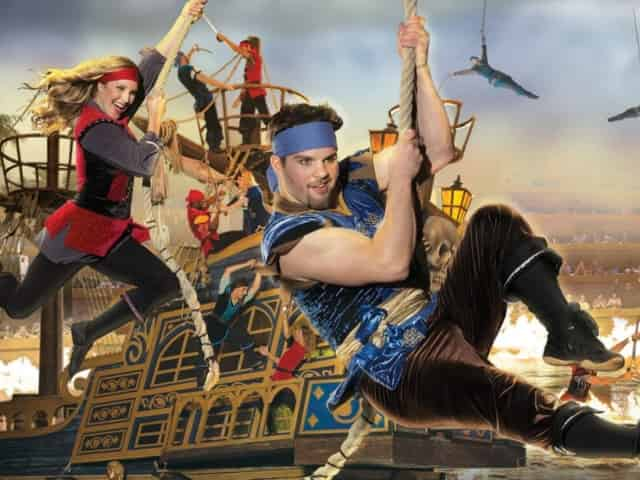 pirates voyage dinner and show in myrtle beach, sc