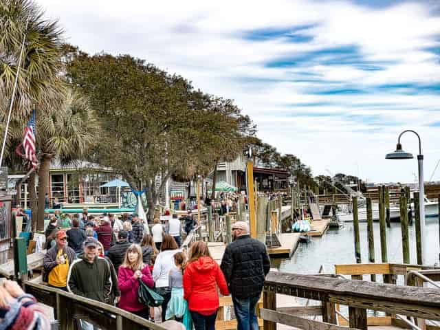 marshwalk in Murrells Inlet, SC