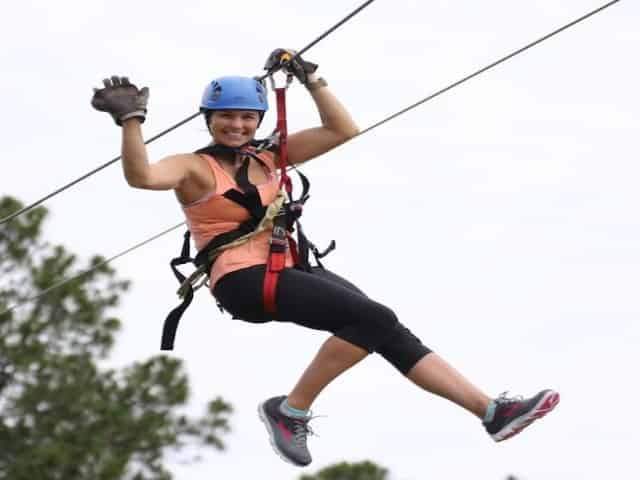 orange beach zip line