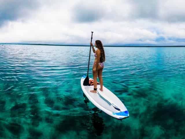 paddleboarding in gulf shores, alabama