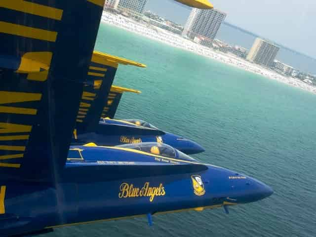 blue angels cruise