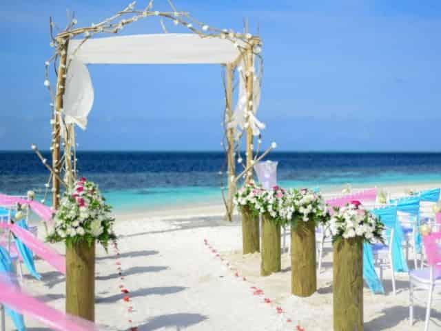 beach wedding in 30a