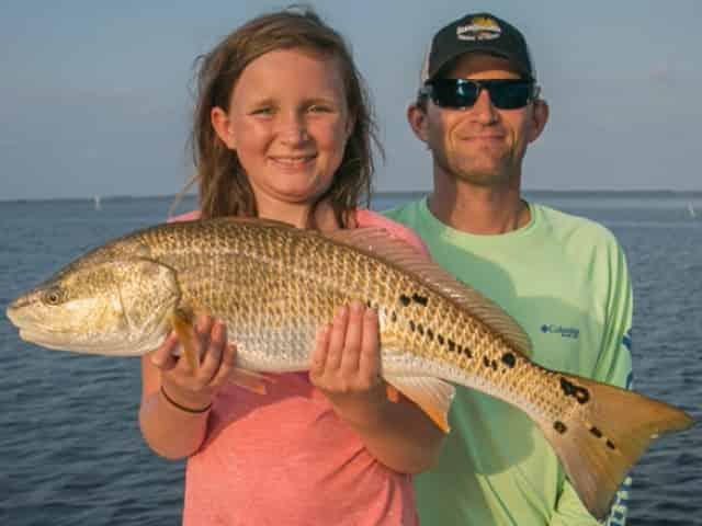 inshore family friendly 30A fishing charter