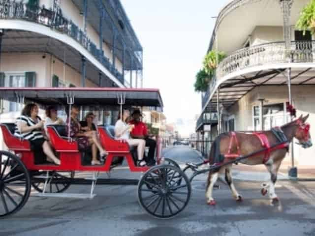 new orleans carriage ride