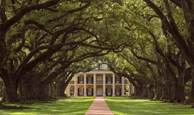 oak alley plantation featured in film