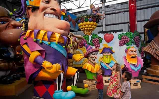 mardi gras world landmark